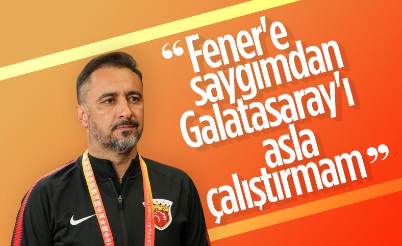 Vitor Pereira: Galatasaray'ı asla çalıştırmam