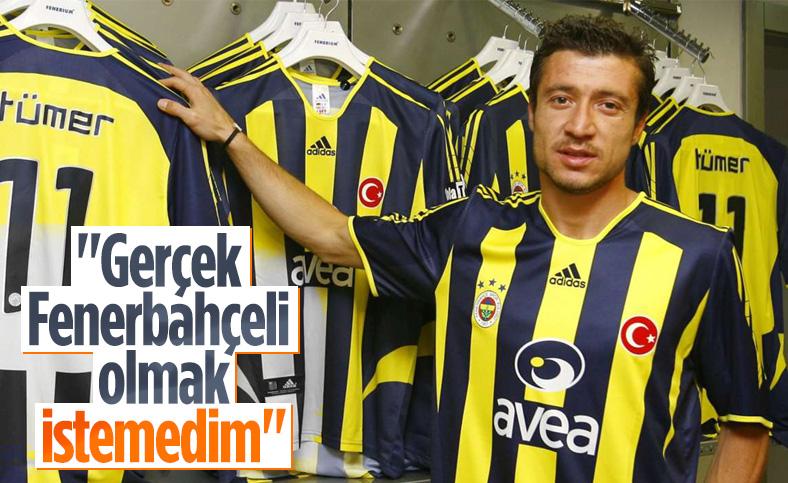 Tümer Metin: Gerçek Fenerbahçeli olmak istemedim
