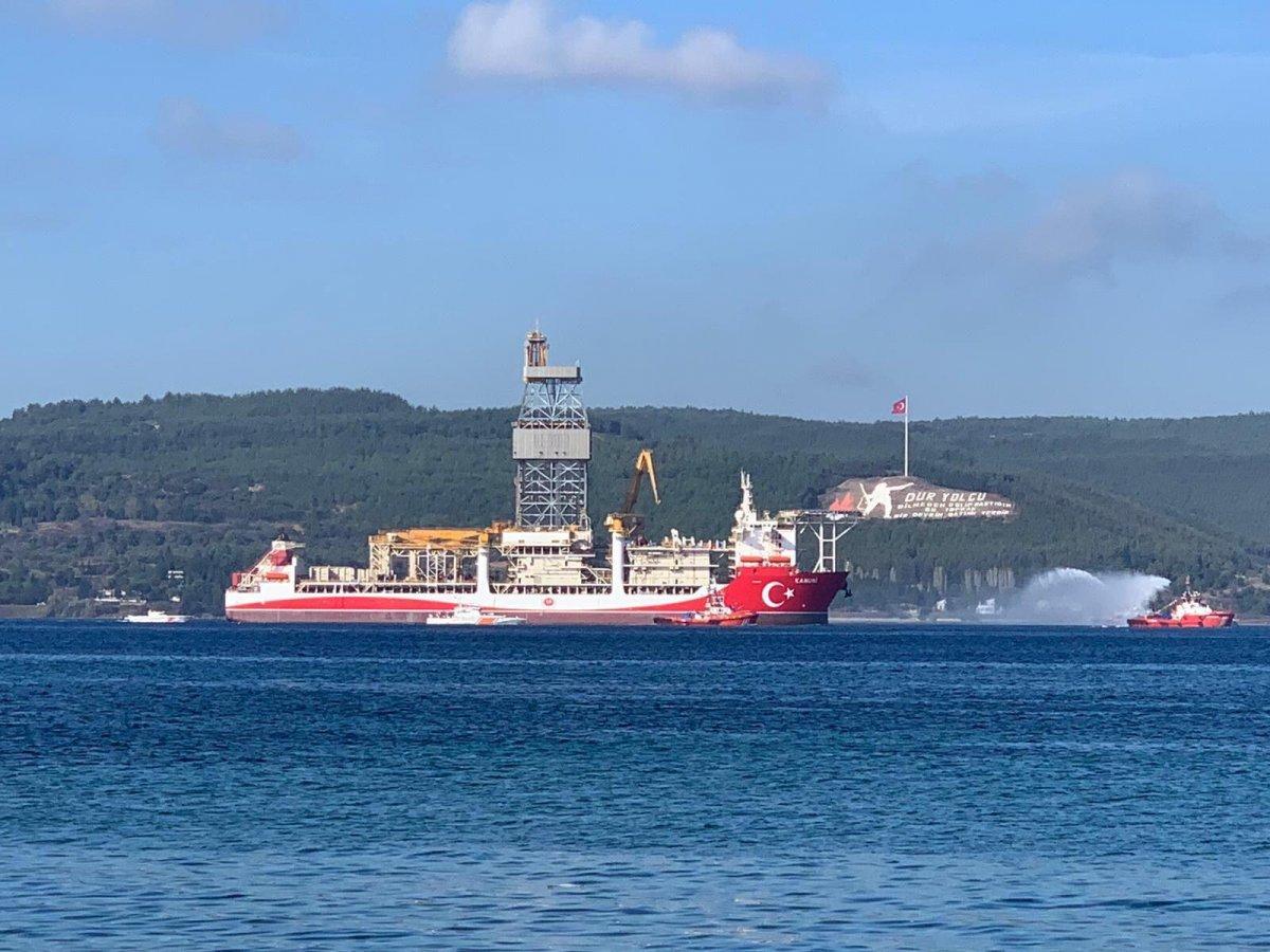 MSB: Kanuni ye Deniz Kuvvetlerimize ait gemiler eşlik ediyor #2
