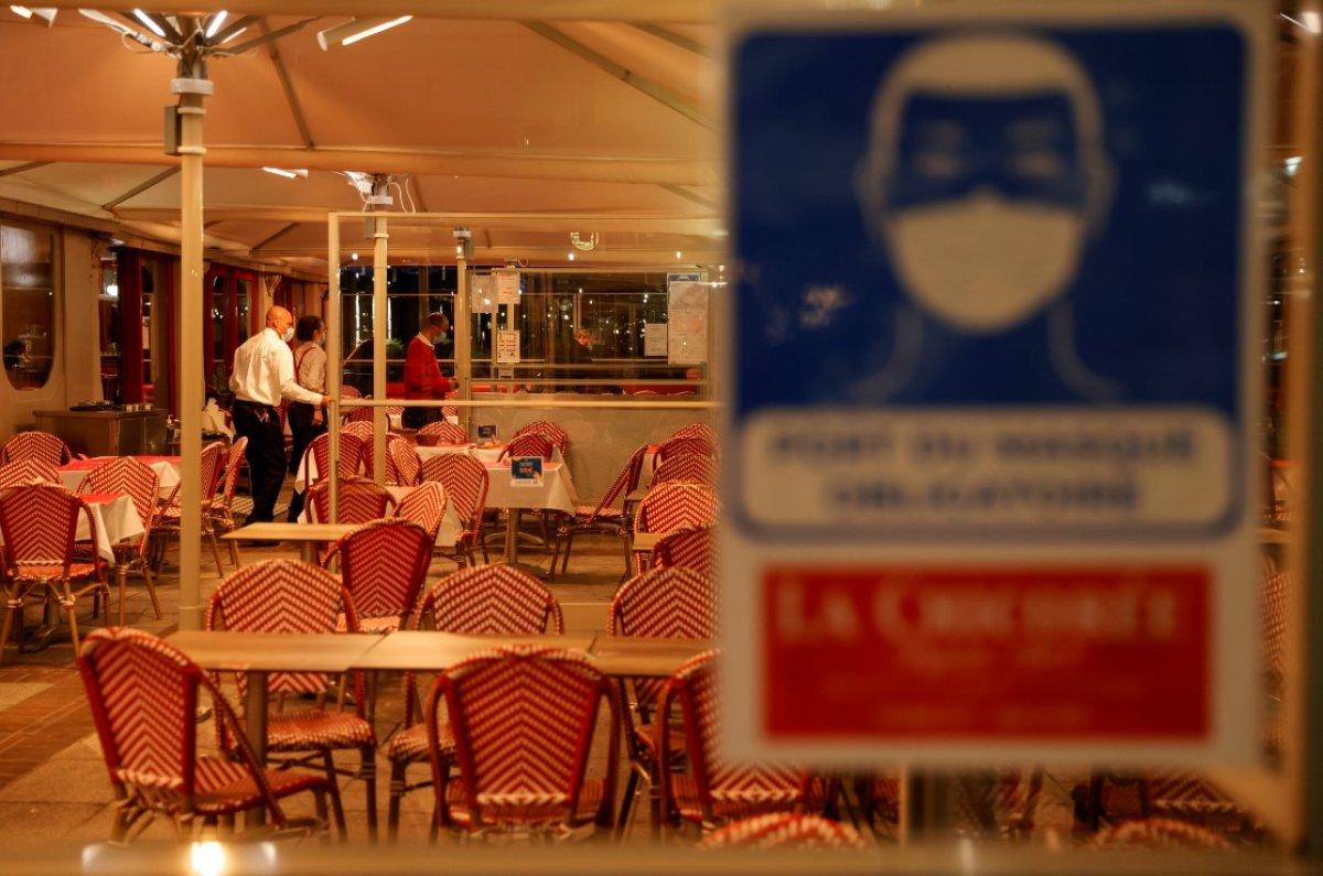 Fransa da 8 şehirde sokağa çıkma yasağı başladı #2