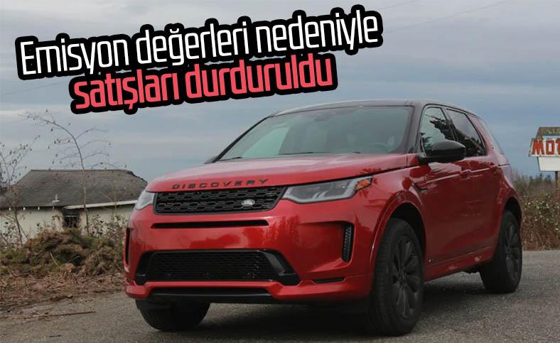 Land Rover, emisyon değerleri nedeniyle iki hibrit modelinin satışını durdurdu