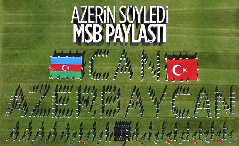 Milli Savunma Bakanlığı'ndan 'Can Azerbaycan' klibi