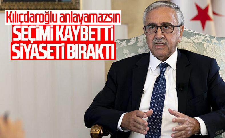 Mustafa Akıncı siyaseti bıraktı