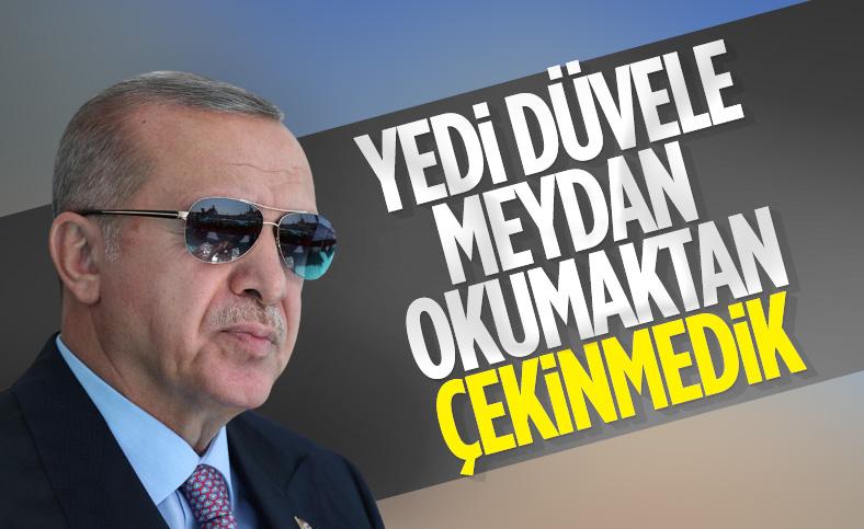 Cumhurbaşkanı Recep Tayyip Erdoğan, Şırnak AK Parti İl Kongresi'ne katıldı
