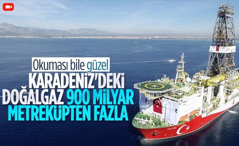 Erdoğan Karakuş: Karadeniz'deki doğalgaz, 900 milyar metreküpten fazla