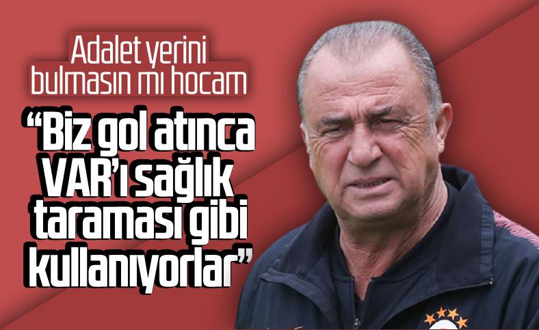 Fatih Terim maç sonu açıklamalarda bulundu