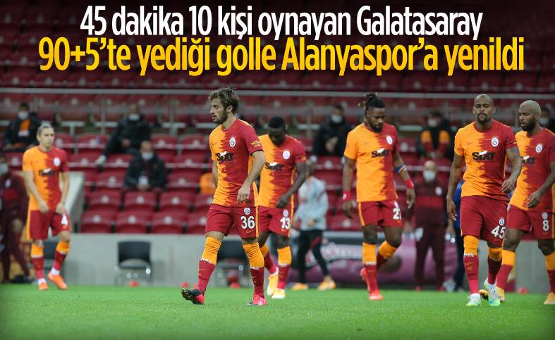 Galatasaray son dakikalarda yıkıldı