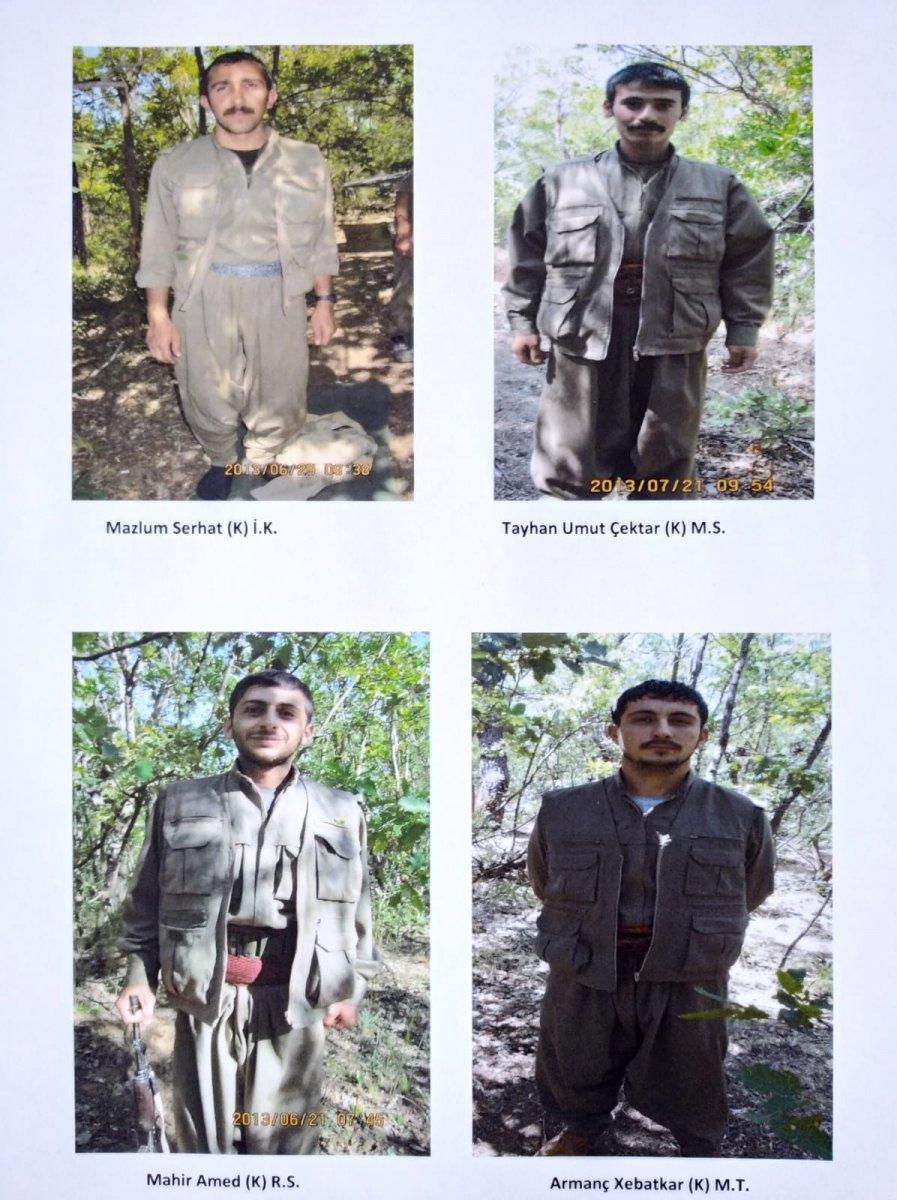 Eylem hazırlığında olan 4 terörist yakalandı #1