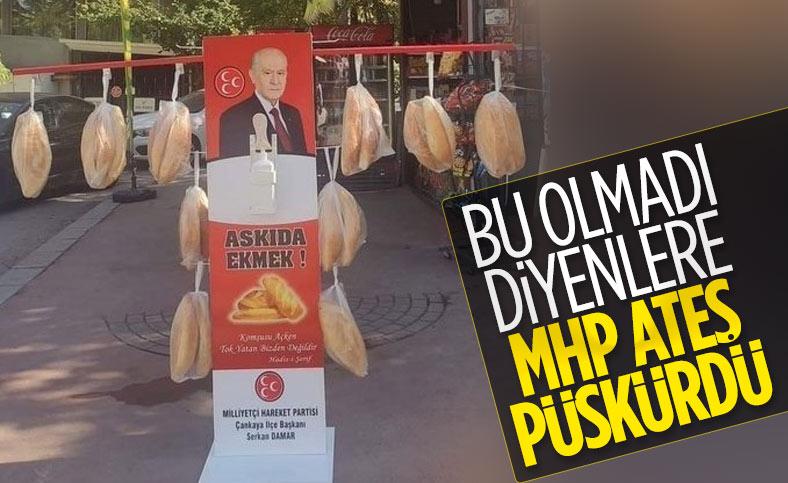 Semih Yalçın, MHP'nin askıda ekmek uygulamasına kızanlara cevap verdi