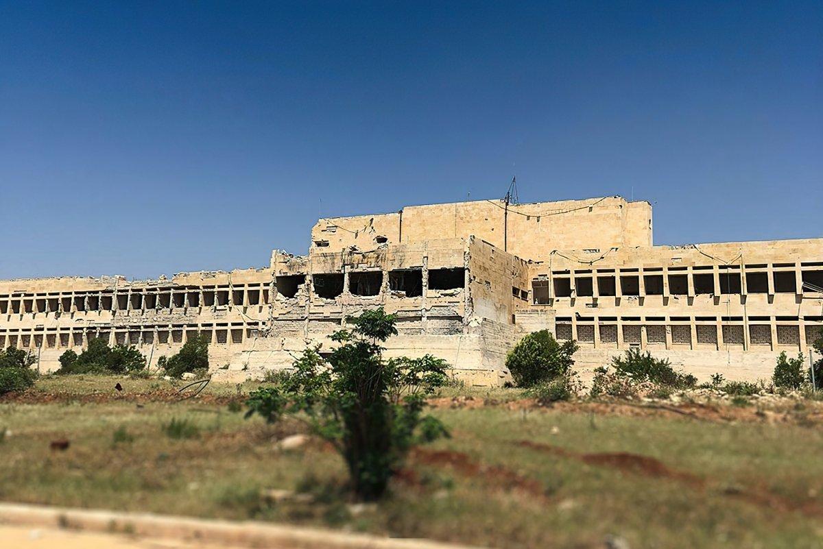 MSB den  Suriye Azez Vatan Hastanesi  paylaşımı #1
