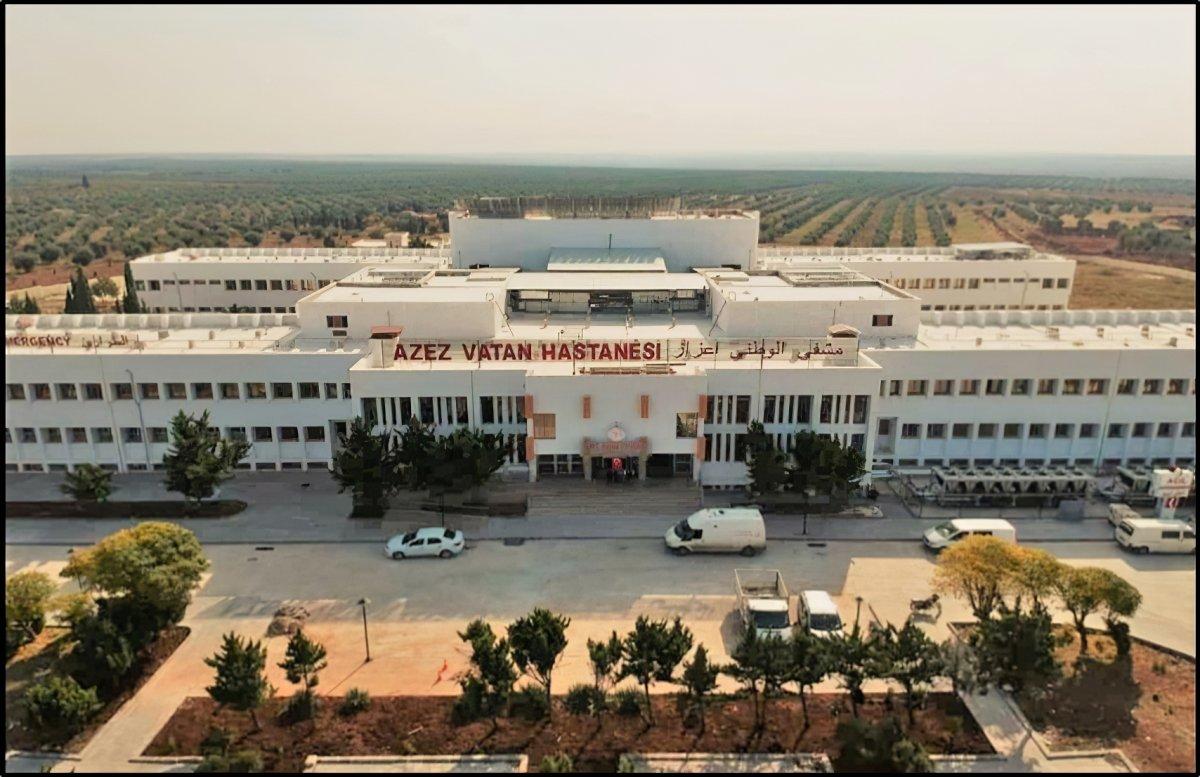 MSB den  Suriye Azez Vatan Hastanesi  paylaşımı #2