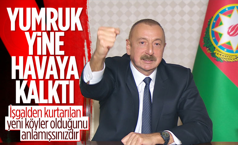 İlham Aliyev: Ermenistan ordusunu öz topraklarımızdan kovacağız