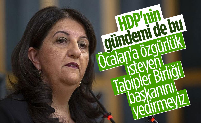 HDP'den TTB Başkanı Şebnem Korur Fincancı'ya destek mesajı