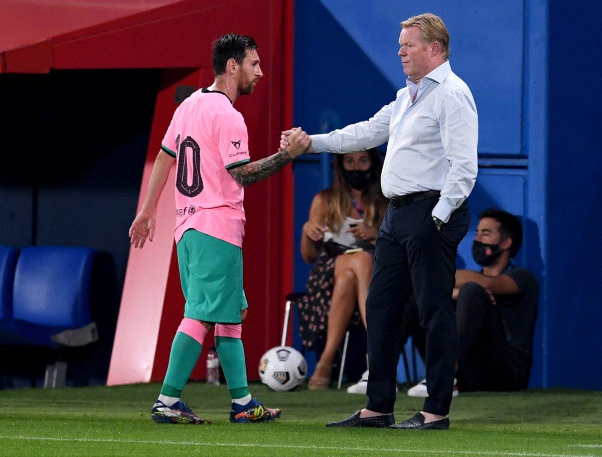 Rpnald Koeman: Messi daha iyi olmalı