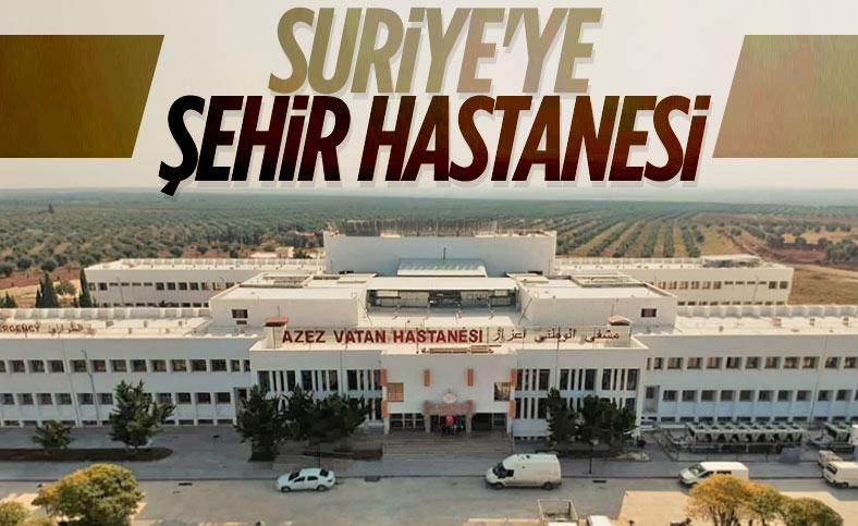 MSB'den 'Suriye Azez Vatan Hastanesi' paylaşımı