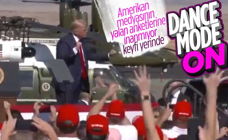 Donald Trump yine dans etti