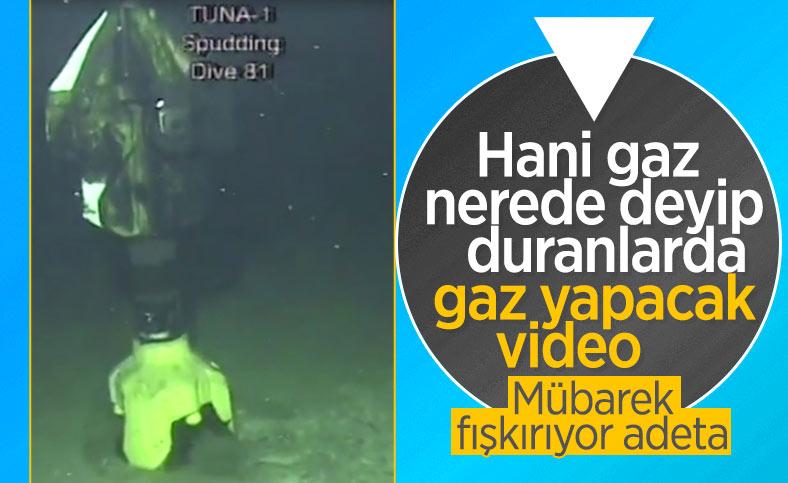 TPAO, Tuna-1 sondaj kuyusunun görüntülerini paylaştı