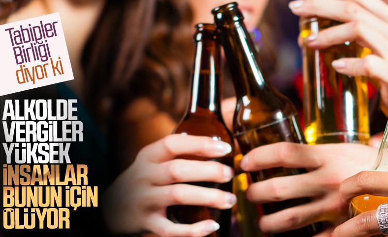 Tabipler Birliği: Alkol fiyatları çok yüksek