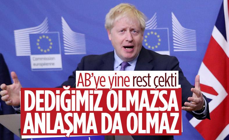 Boris Johnson: İngiltere ile AB arasında Brexit görüşmeleri tıkandı