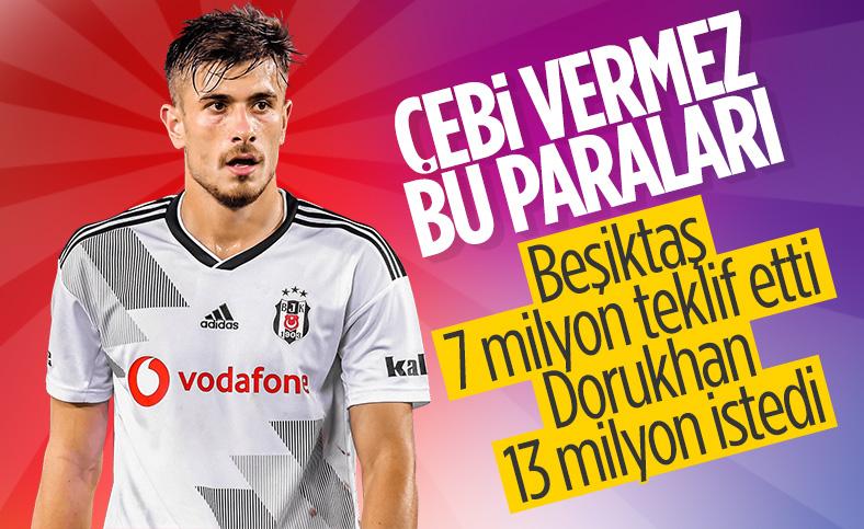 Beşiktaş ve Dorukhan Toköz arasında maaş sorunu