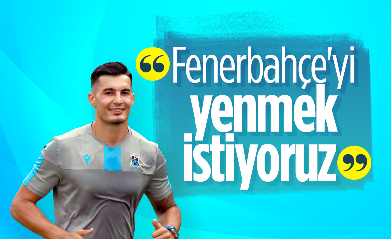 Uğurcan Çakır: Fenerbahçe'yi yenmek istiyoruz