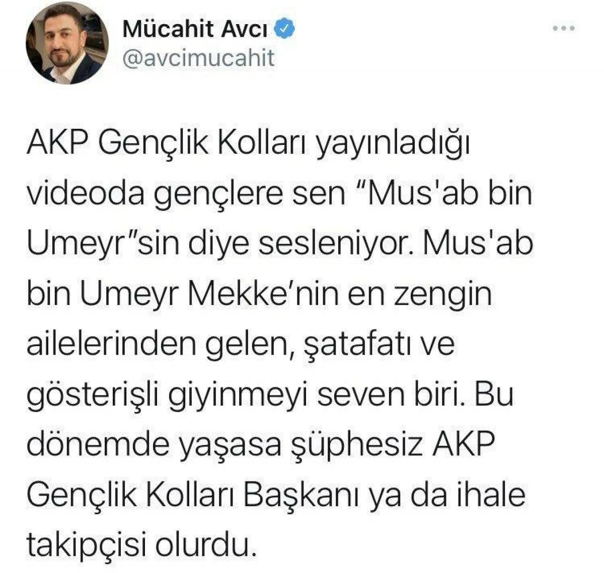 CHP li Mücahit Avcı sahabeye hakaret etti #1