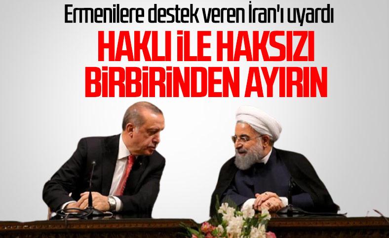 Cumhurbaşkanı Erdoğan, İran Cumhurbaşkanı Ruhani'yle görüştü
