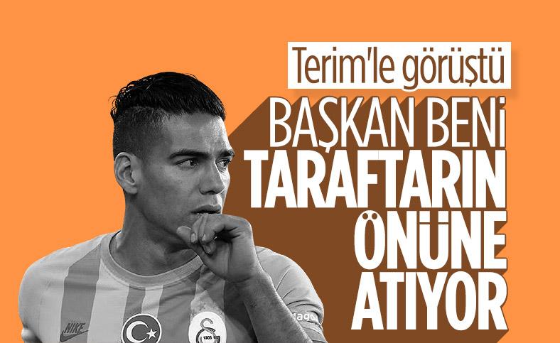 Radamel Falcao, Mustafa Cengiz'in sözlerinden rahatsız oldu