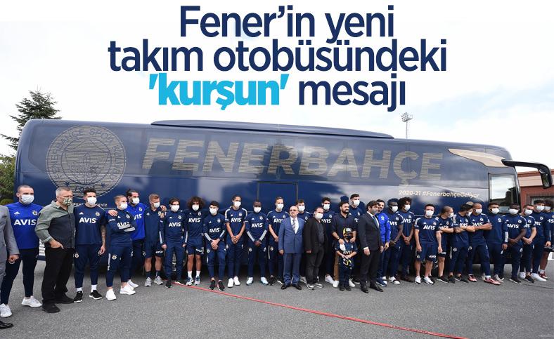 Fenerbahçe'nin yeni otobüsündeki 'kurşun' detayı