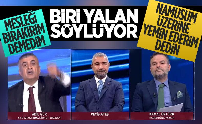 Kemal Öztürk ile Adil Gür arasında KKTC seçimi tartışması
