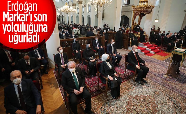 AK Parti İstanbul Milletvekili Markar Esayan için Ermeni Patrikanesi'nde cenaze töreni düzenlendi