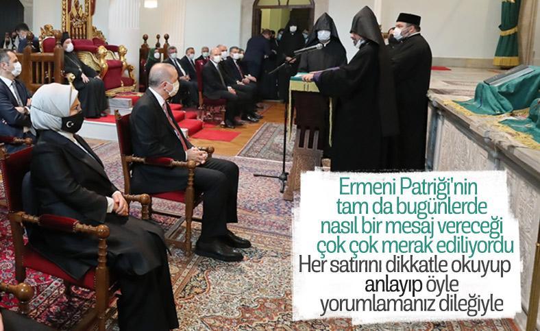 Türkiye Ermenileri 85. Patriği Sahak Maşalyan'dan Karabağ mesajı