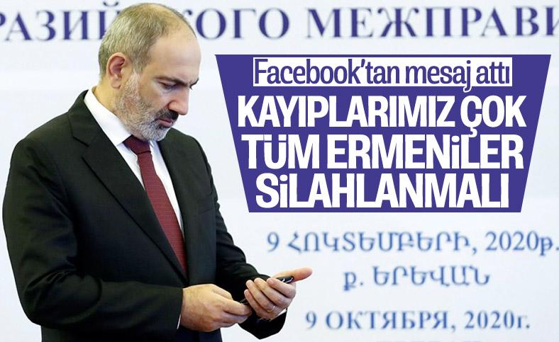 Ermenistan Başbakanı Paşinyan, halkını cepheye çağırdı