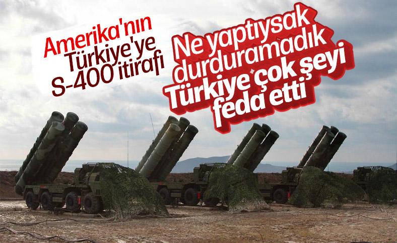 Amerika'dan Türkiye'ye S-400 tepkisi