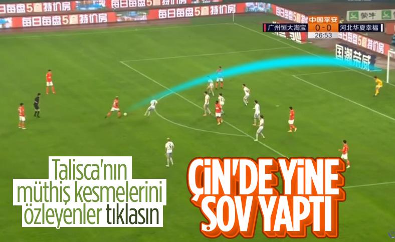 Anderson Talisca'dan iki güzel gol