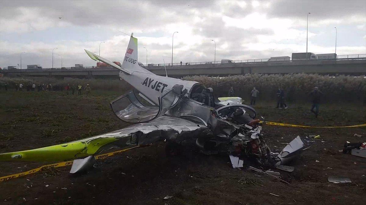 İstanbul Valiliği nden düşen eğitim uçağı ile ilgili açıklama  #2