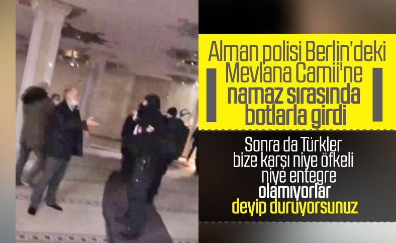 Ömer Çelik: Alman polisinin Berlin'deki Mevlana Camii'ne dönük şiddetini kınıyoruz