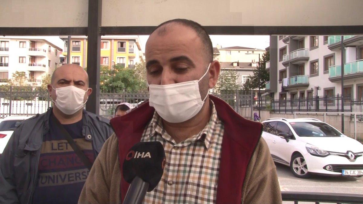Çekmeköy'de kargoyu elden teslim etmek istedi, hastanelik oldu #2