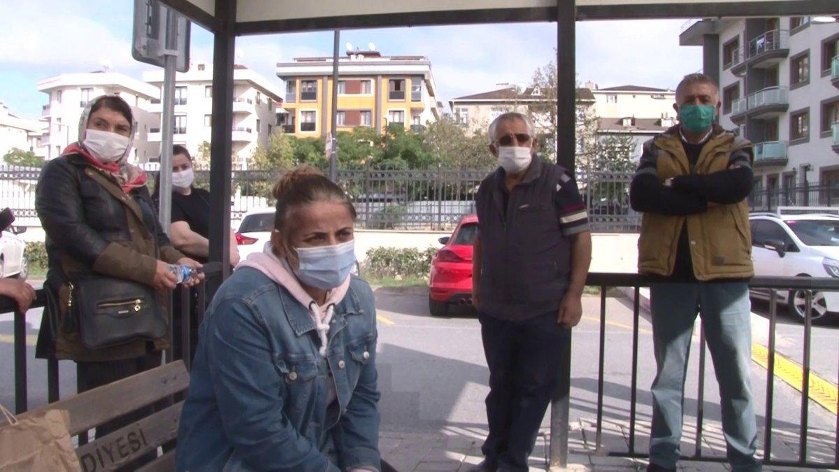 Çekmeköy'de kargoyu elden teslim etmek istedi, hastanelik oldu #4