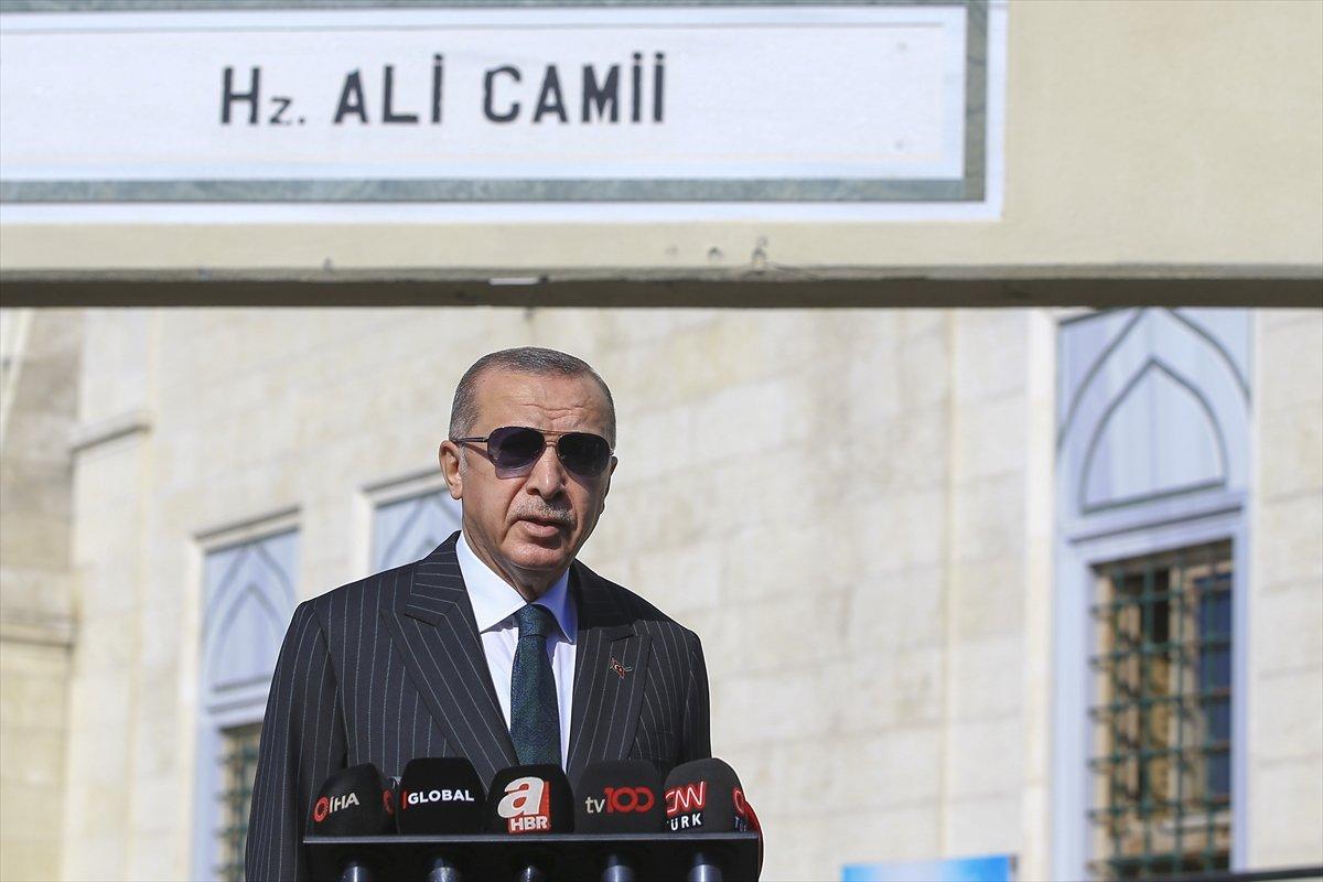Cumhurbaşkanı Erdoğan: Test yapmayı kalkıp, ABD ye soracak değiliz #1