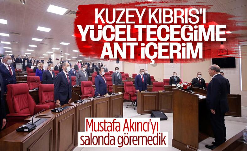 KKTC'nin yeni Cumhurbaşkanı Ersin Tatar yemin etti