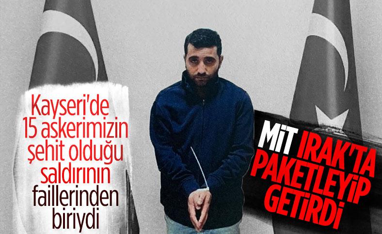Kayseri saldırısının faillerinden PKK'lı Ferhat Tekiner, Türkiye'ye getirildi