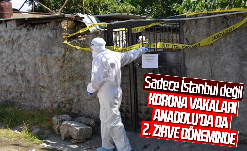 Fahrettin Koca: Salgın Anadolu'da ikinci zirve dönemini yaşıyor
