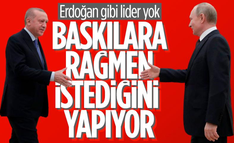 Vladimir Putin: Erdoğan, baskılara rağmen bağımsız dış politika izliyor