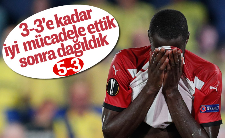 Sivasspor Avrupa Ligi'nde Villarreal'e yenildi