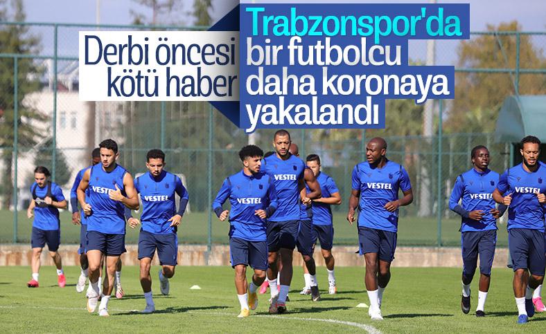 Trabzonspor'da 1 futbolcu daha koronavirüse yakalandı