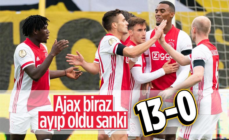 Ajax'tan VVV-Venlo karşısında 13 gollük resital