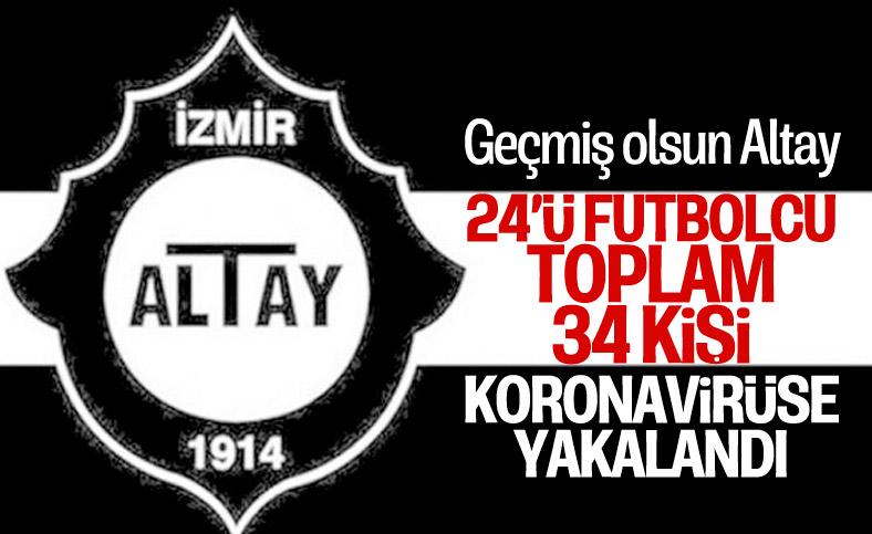 Altay'da sporcular dahil 34 kişi koronavirüse yakalandı