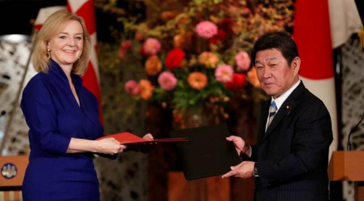 İngiltere ile Japonya arasında Serbest Ticaret Anlaşması imzalandı #1