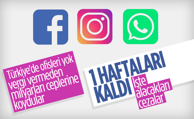 Sosyal medya sitelerinin temsilci bildirmesi için son 1 hafta
